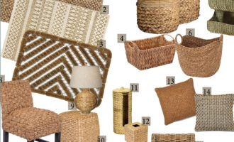 Friday Finds – Natural Woven Fibers