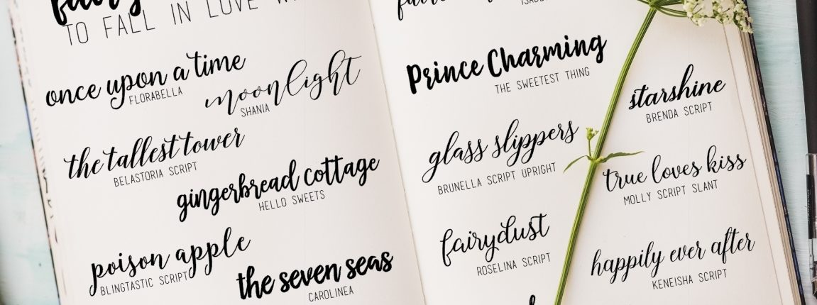 Fairytale Fonts to Fall in Love With