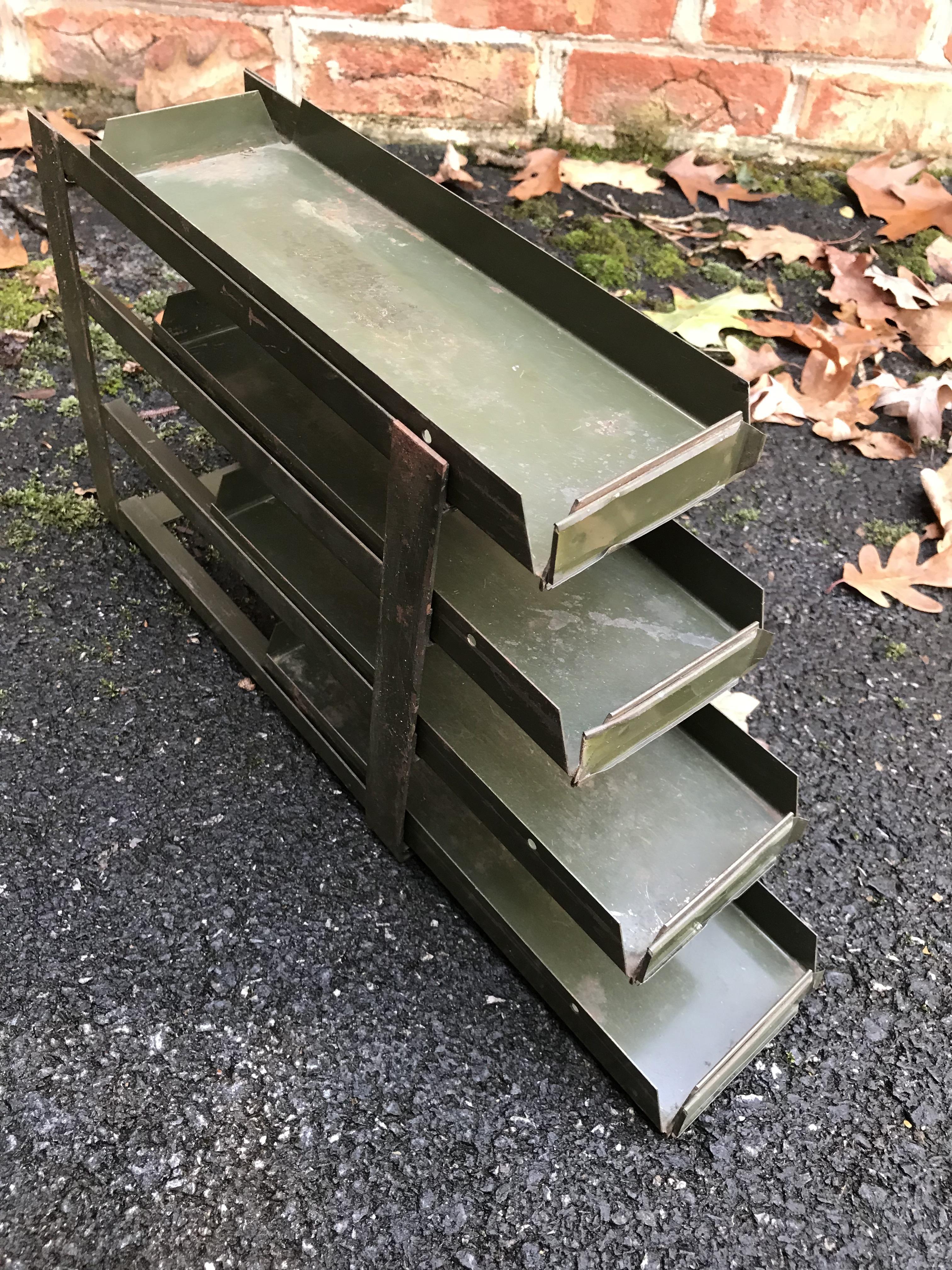 sliding rack before