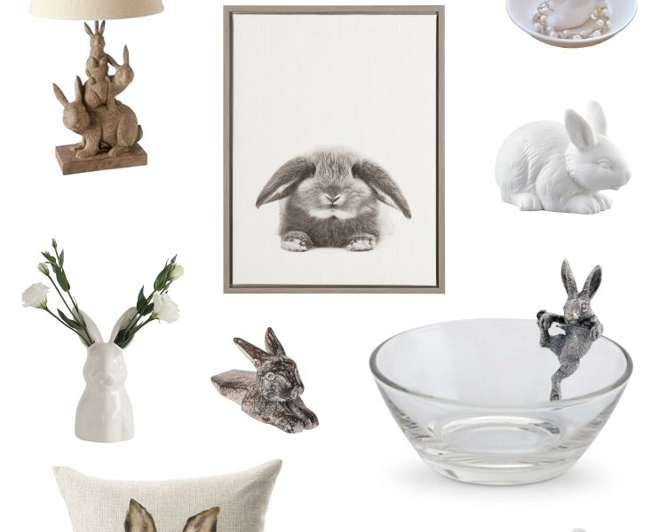 Friday Finds - Bunny Decor