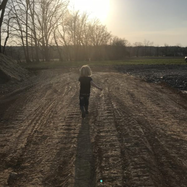 breaking ground at the farm