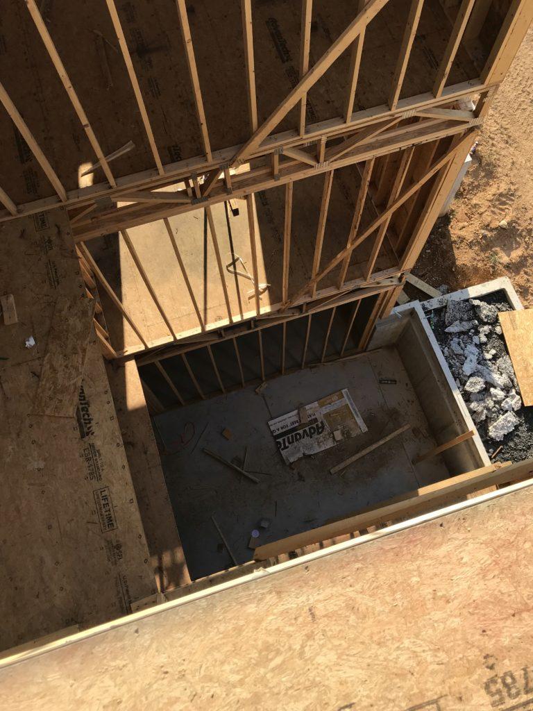 stair cavity