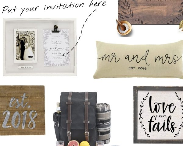 rustic wedding gifts featured