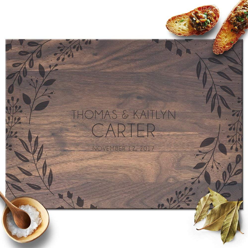 wedding gift - personalized cutting board