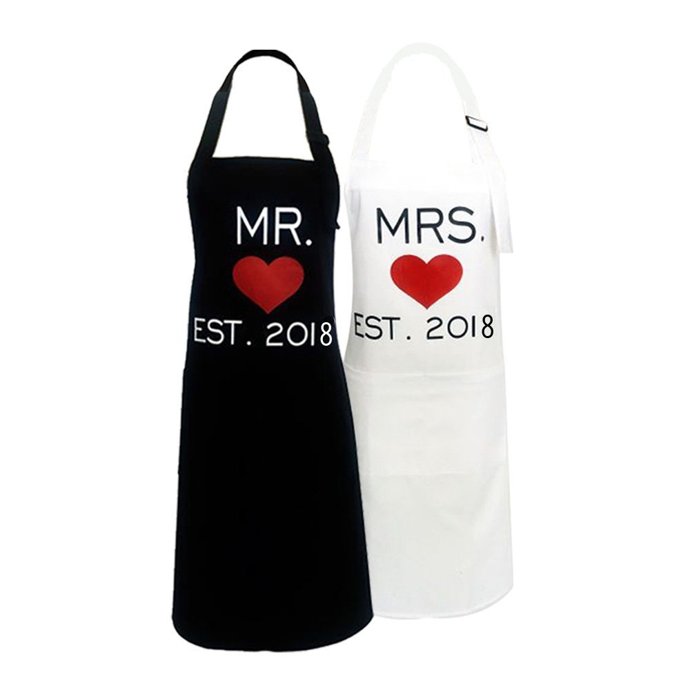 couples aprons