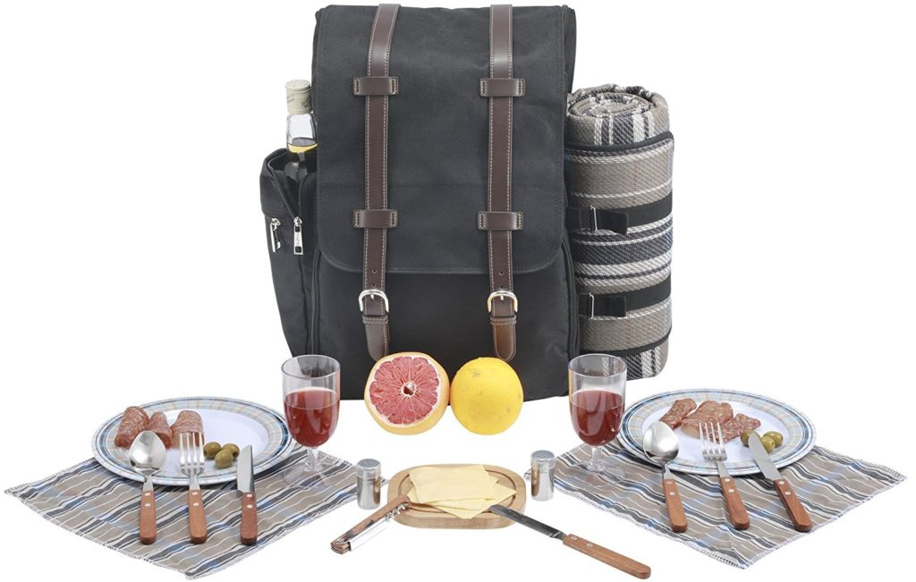 picnic basket for 2