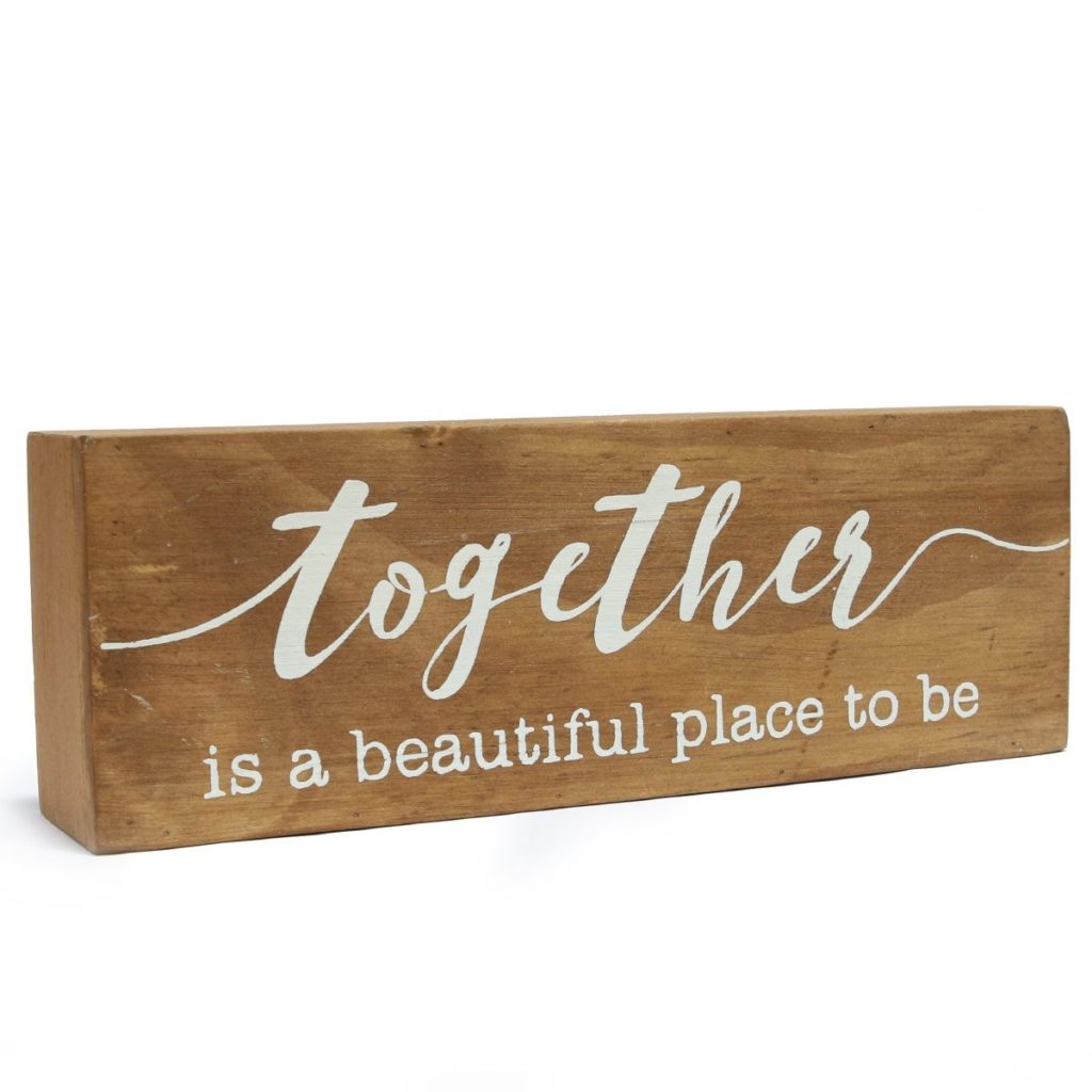 together box sign