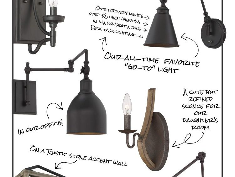 farmhouse wall lights