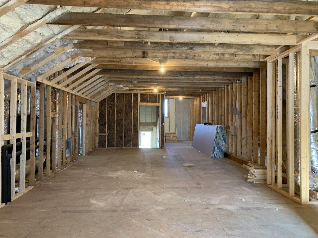 attic framing