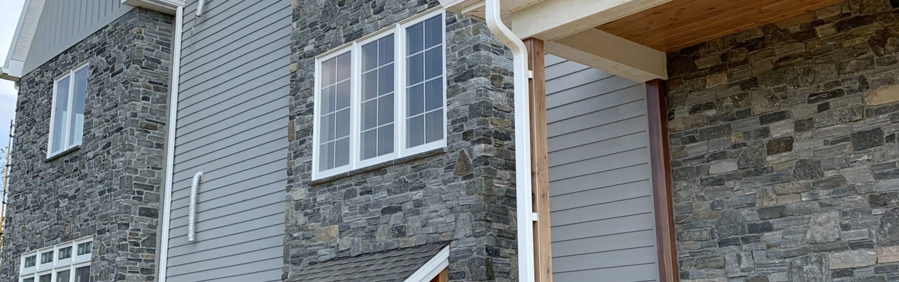 stair tower stone