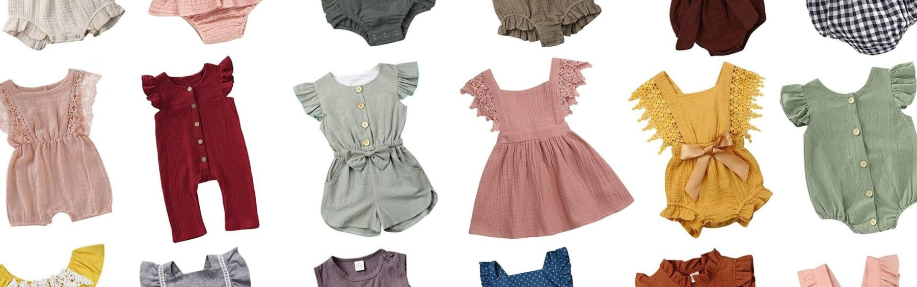 Vintage baby clothes from Amazon