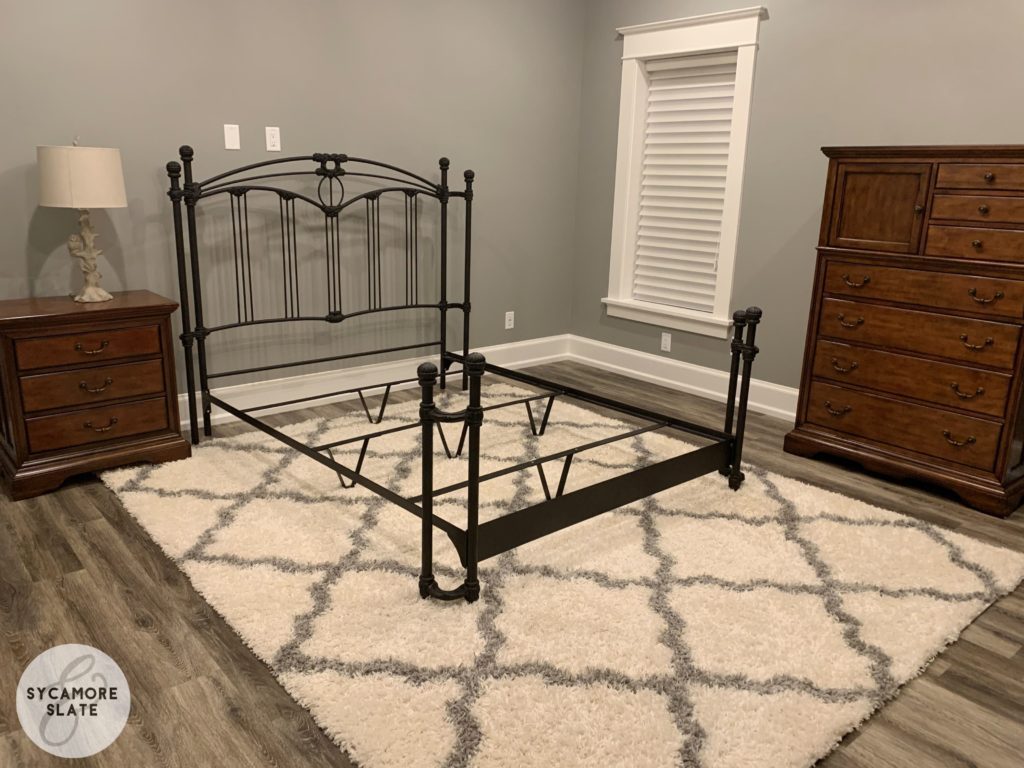 spare basement bedroom