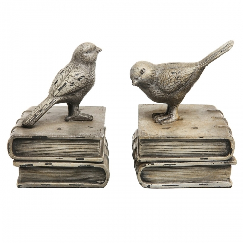 Bird On Bookends