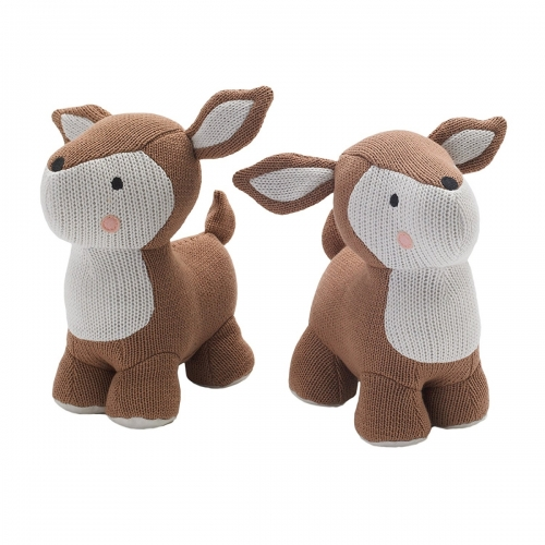 Nursery Deer Bookends