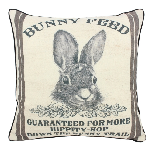 bunny feed pillow
