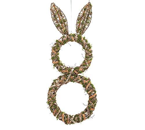 bunny moss wreath